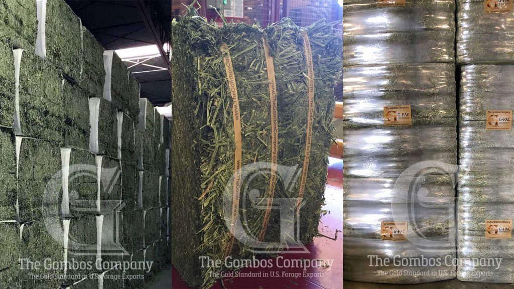 450Kg Mag Bale Sleeves, 30Kg small bales, and G-PAC packages from The Gombos Company